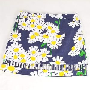 Lilly Pulitzer Daisy & Ladybug Print Pencil Skirt